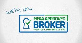 MFAA Approved Broker Logo